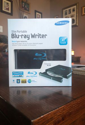 portable Blu-ray writer compatible with macs and windows for Sale in Clearwater, FL