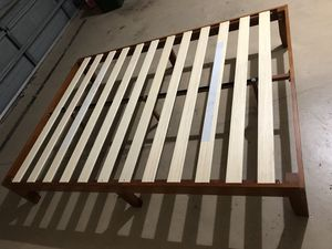 Queen Bed wooden frame for Sale in Spring Hill, FL