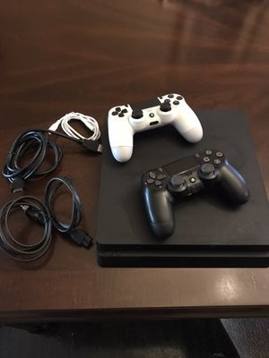 PS4 Slim w/ 2 Controllers $350 for Sale in Philadelphia, PA
