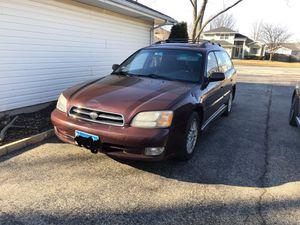 2001 subaru legacy gt wagon for Sale in Romeoville, IL