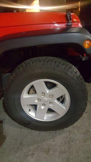 "2016 Jeep Wrangler Unlimited 17"" Tire & Wheel set for Sale in Chula Vista, CA"