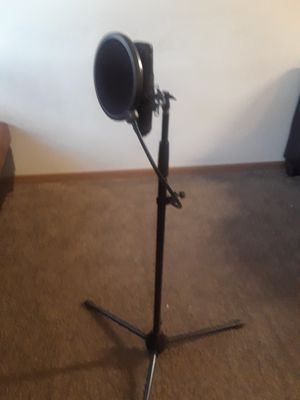 Recording mic with adjustable stand for Sale in Akron, OH