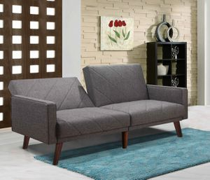 Lucerne Split Back Futon Sofa Bed $269.00, HOT BUY! In stock! FREE DELIVERY for Sale in Ontario, CA