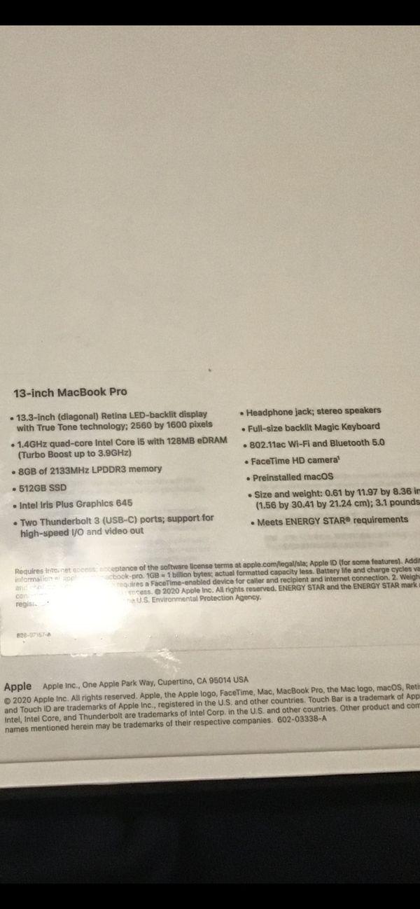 New 13 inch MacBook Pro