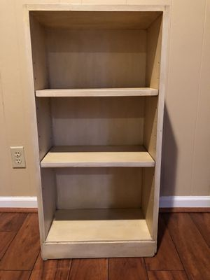 Pale yellow bookcase for Sale in Leawood, KS