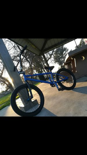Bmx blue with black for Sale in Fresno, CA