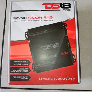 Ds18 Pro FRX1K 1000watts RMS Full Range Class-D Monoblock Amplifier for Sale in Hollywood, FL