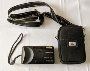 Olympus Infinity AF-10 Mini 35mm Compact Film Point And Shoot Camera with Case for Sale in Raleigh, NC