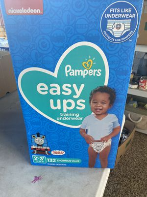 Pampers Easy UPS Size 2/3T 132 count for Sale in La Mesa, CA