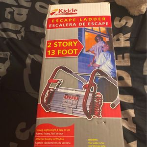 Kidde Escape Ladder 2 Story 13 Foot for Sale in Los Angeles, CA