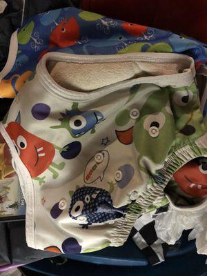6 Alva cloth diaper pull ups for Sale in University Place, WA