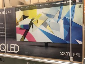 "55"" qled 4k smart Samsung tv 2.1 hdmi for Sale in Norwalk, CA"