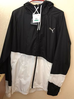 Puma windbreaker jacket large for Sale in Hayward, CA