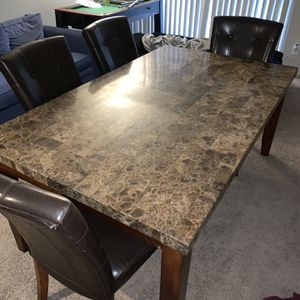 Marble Dining Set for Sale in Chapel Hill, NC
