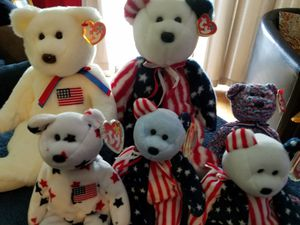 America Beanie Babies...Small and Large for Sale in Queens, NY