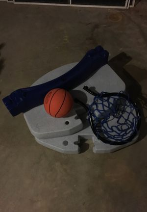 Mini basketball hoop for swimming pool for Sale in Clifton, VA