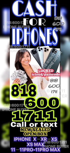 iPhone 11 pro max 11 pro xs max xr x NEW SEALED OPEN BOX iCloud locked - NEW SEALED BOX iPad MacBook Apple Watch cellphone smartphone phone for Sale in Los Angeles, CA