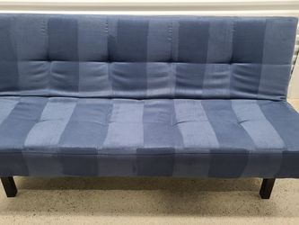 Futon IKEA Clean Good Condition (Not Striped Just Velour) for Sale in Lynnwood,  WA