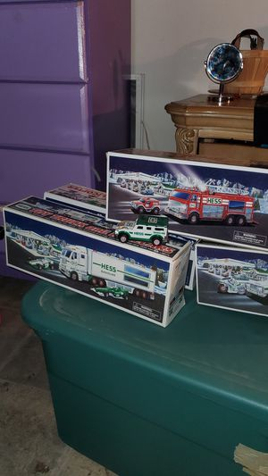 Hess Toy Collection (Original Packaging) for Sale in Upper Gwynedd, PA