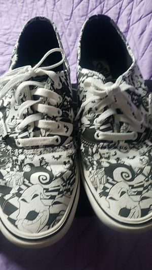 Disney nightmare before Christmas vans 11 for Sale in Chino, CA