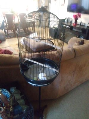 Bird cage with stand for Sale in Los Angeles, CA