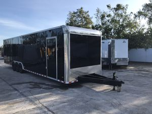 Enclosed trailer two car hauler 102x36 for Sale in Pembroke Pines, FL