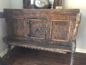Beautiful Antique Cabinet! $375 obo for Sale in Los Angeles, CA