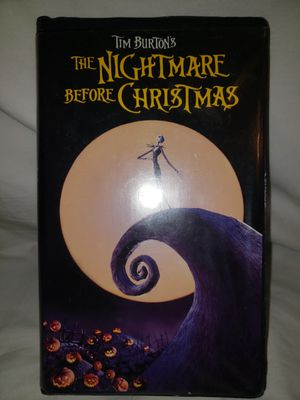 Vintage 90s The Nightmare Before Christmas (VHS, 1994) Clamshell Burton for Sale in El Paso, TX