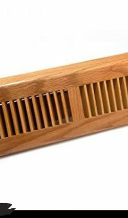 T.A industries 18 in. wood oak baseboard light finished diffuser for Sale in Inkster,  MI