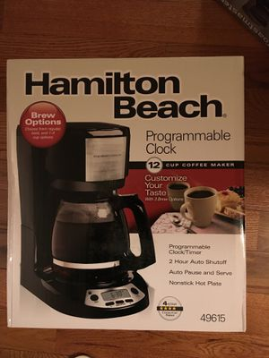 Brand new hamilton beach 12 cup coffee maker for Sale in Sterling, VA