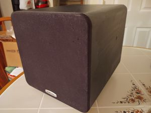 """POLK AUDIO Subwoofer 8"""" Great Cond No Issues, Powerful Speaker, Home theater Surround sound Gaming or in Car or truck, Make me an Offer for Sale in Franklinville, NJ"""