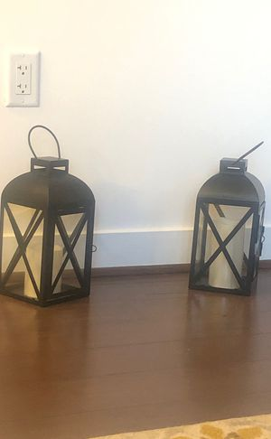 Smart Living Home and Garden, Battery Powered, Candle LED Lantern for Sale in Washington, DC