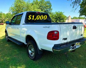 🟢💲1,OOO For sale URGENTLY this Beautiful💚2002 Ford F150 nice Family truck XLT Super Crew Cab 4-Door Runs and drives very smooth V8🟢 for Sale in Fort Lauderdale, FL