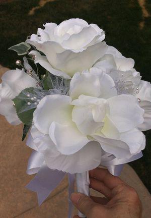 Wedding Bouquet -silk flowers for Sale in Fresno, CA