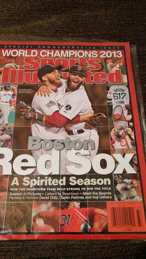 Red Sox special commemorative for Sale in Bangor, ME