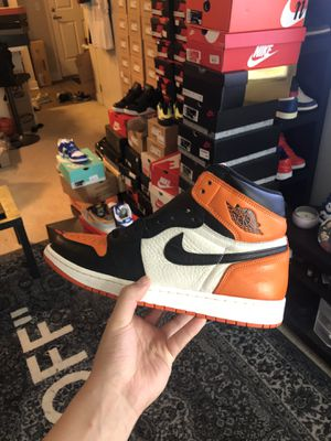 Nike air Jordan 1 shattered backboard 1.0 9.5/10 condition og all for Sale in Bellevue, WA