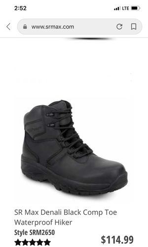 SR Max Slip Resistant steel toe boots for Sale in Kissimmee, FL
