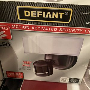 Motion Activated Security Light for Sale in Spring, TX