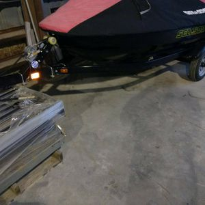 Single Place Jet Ski Waverunner Trailer For Seadoo Yamaha And Others for Sale in Morris, IL