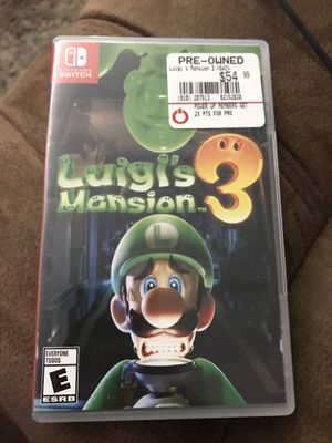 Luigis mansion Switch for Sale in Kennewick, WA