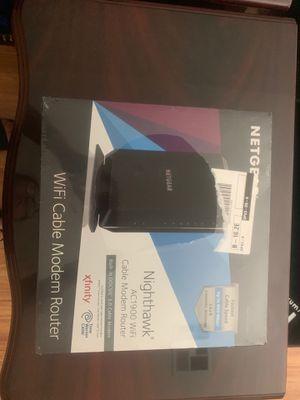 Netgear Modem router for Sale in Tempe, AZ