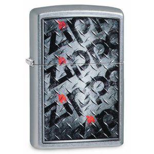 Zippo Diamond Plate Logo Lighter for Sale in Daytona Beach, FL