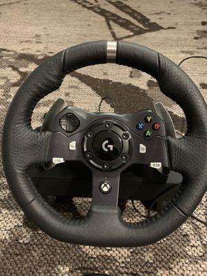 Logitech G920 steering wheel for Sale in Boca Raton, FL