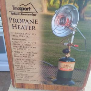 Texsport Propane Heater.. for Sale in Valley Center, CA