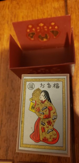 Vintage Japanese Hobby Hyakunin Isshu Hanafuda Karuta Game 48 Piece for Sale in Los Angeles, CA