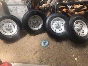4 llantas con todo y tuercas -ford ranger o Toyota pickup. for Sale in Lancaster, CA