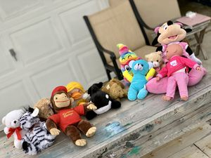 Stuffed Animals 12 Items for Sale in Port St. Lucie, FL