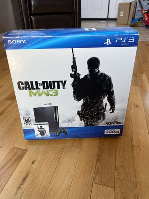 PS3 CONSOLE 320 GB/CALL OF DUTY/MW3 for Sale in Riverside, CA
