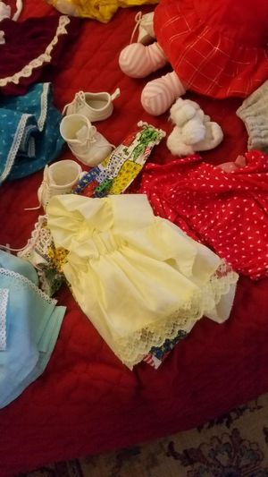 Doll and clothes variety for Sale in Plainwell, MI