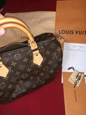 Louis Vuitton speedy 30 monogram for Sale in Sterling, VA